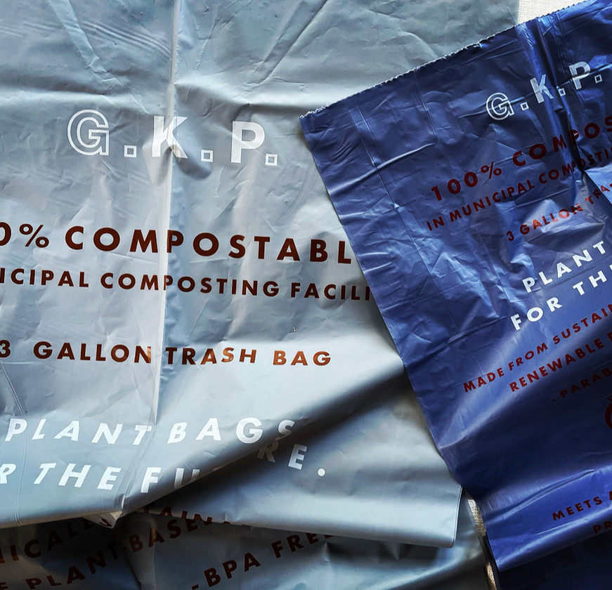 G.K.P. Compostable Trash Bags