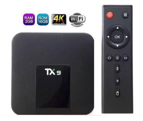 Media Tv Box 4K Quad Core 2Gb De Ram 16Gb Android 7.1 Wifi