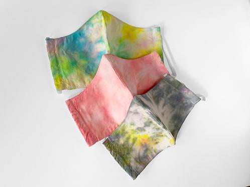 The Joplin: Set of 3 Tie Dye Victory Masks
