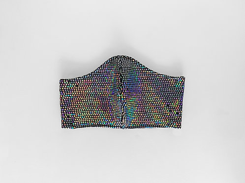 The Freddie: Iridescent Sequin Victory Mask