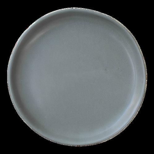 The Jett: Gray Dinner Plate