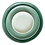 Thumbnail: The Circe: Jade Green Ceramic 3-Plate Set