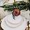 Thumbnail: The Bloomington: White & Gold Dinner Plate