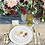 Thumbnail: The Bloomington: White & Gold 3-Piece Ceramic Plate Set