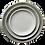 Thumbnail: The Jett: Gray Ceramic 3-Plate Set