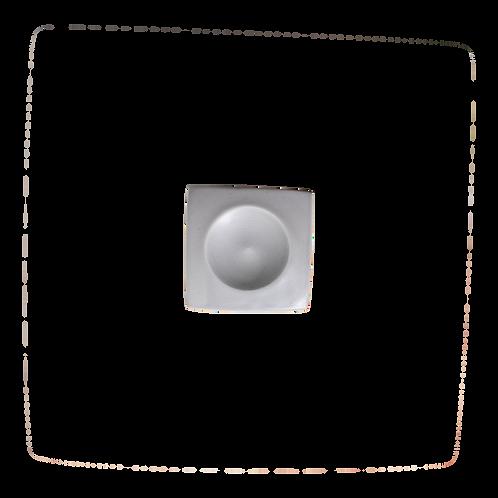 The Jett: Gray Square Salt Cellar / Ring Dish