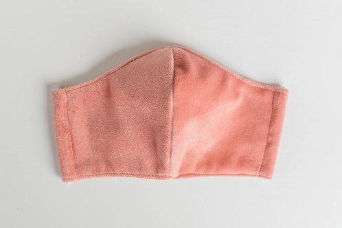 The Rose: Blush Pink Velvet Victory Mask