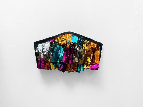 The Gloria: Rainbow Tinsel Victory Mask