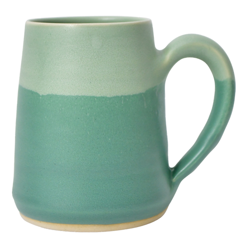 The Circe: Ombré Jade Green Mug