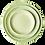 Thumbnail: The Midori: Chartreuse Ceramic 3-Plate Set