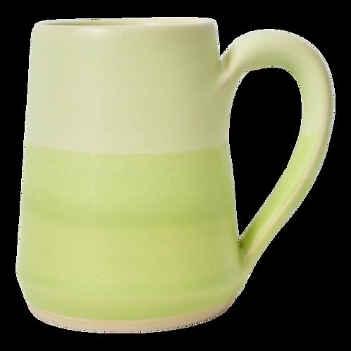 The Midori: Ombré Chartreuse Green Mug