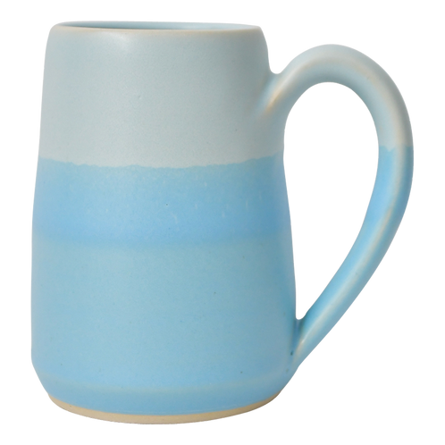 The Amalfi: Ombré Light Blue Mug