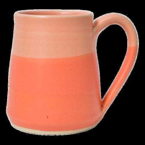 The Soleil: Ombré Coral Mug