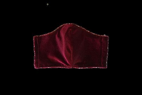 The Crimson: Merlot Velvet Victory Mask