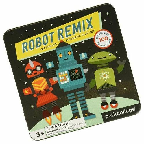 Robot Remix Magnetic Play Set