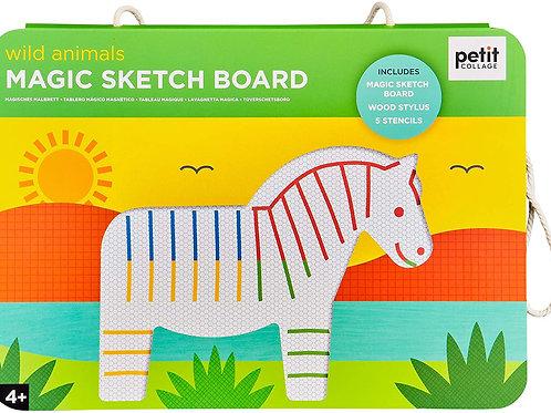 Wild Animals - Magic Sketch Board