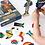 Thumbnail: Superheroes Magnetic Dress Up Play Set