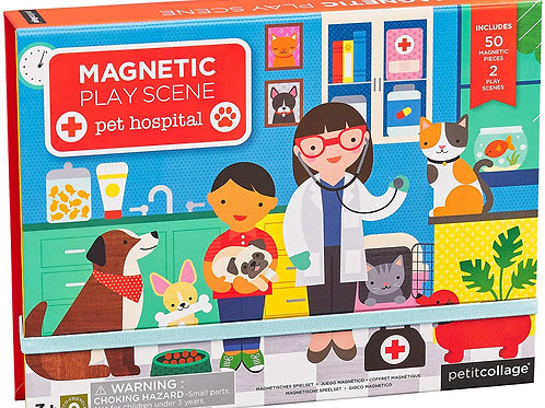 Pet Hospital Magnetic Play Set