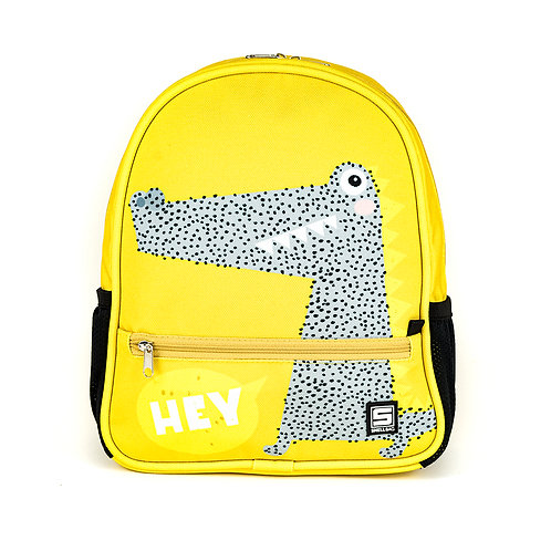 Pre-school backpack - Hey crocodile!