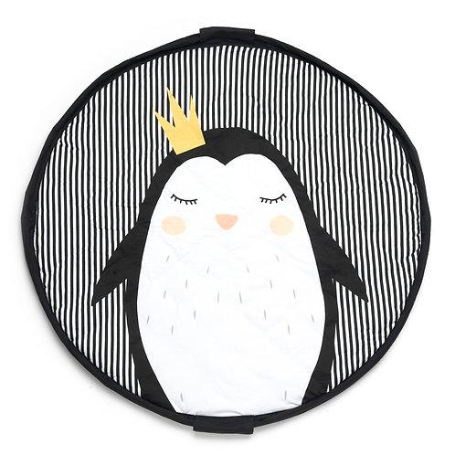 Penguin soft baby playmat - bag