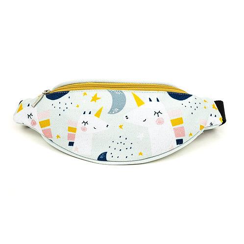 Mini hip bag - Moonlight Unicorns