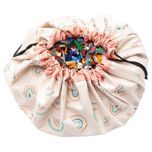 Rainbow toy storage bag