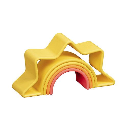 Dena Silicone Toy- Bright Sunrise