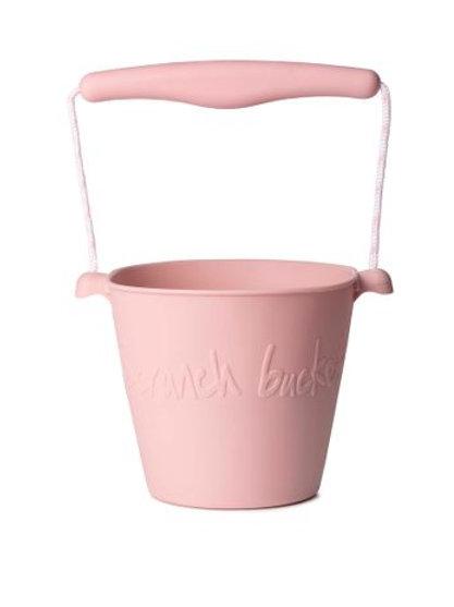 Scrunch Bucket- Dusty Rose