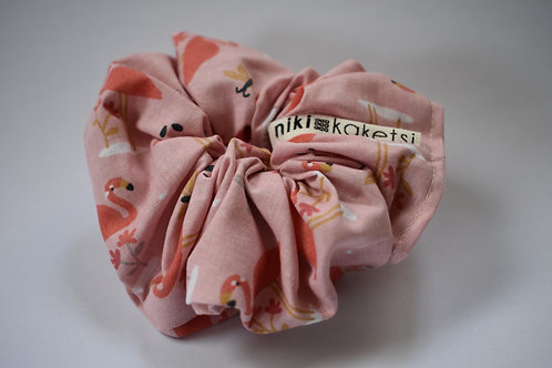 Scrunchie ''Flamingo''