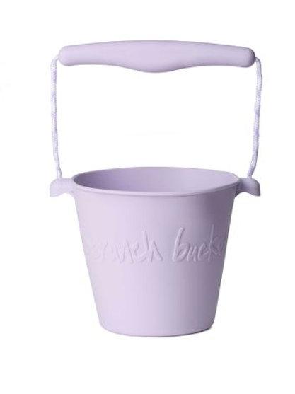 Scrunch Bucket- Dusty Light Purple