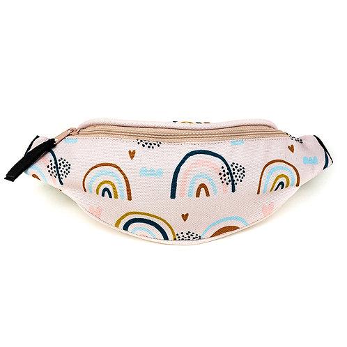 Mini hip bag - Rainbow Meadow