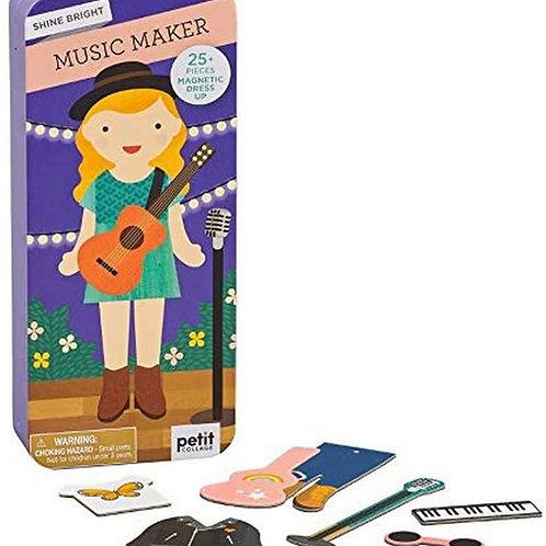 Music Maker Shine Bright Magnetic Play Set