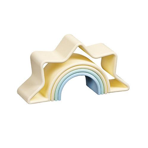 Dena Silicone Toy- Pastel Sunrise