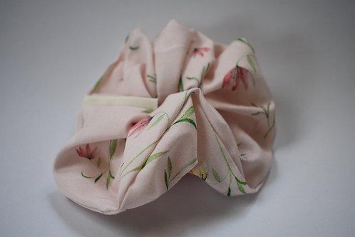 Scrunchie ''Pink Flower''