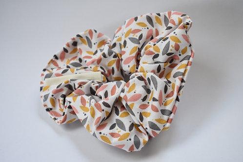 Scrunchie ''Tiny Leaves''