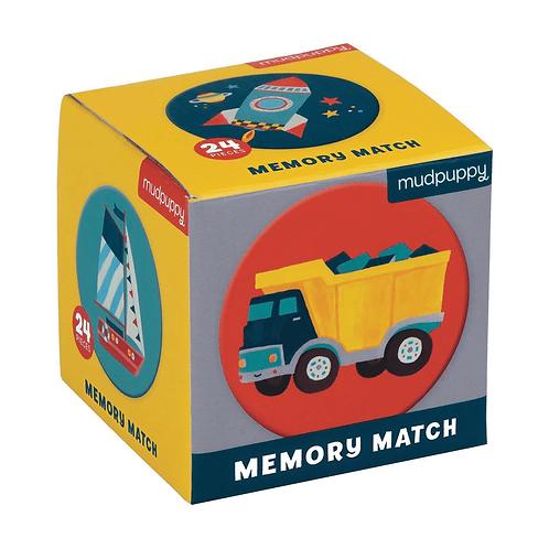 Transportation Mini Memory Match Game