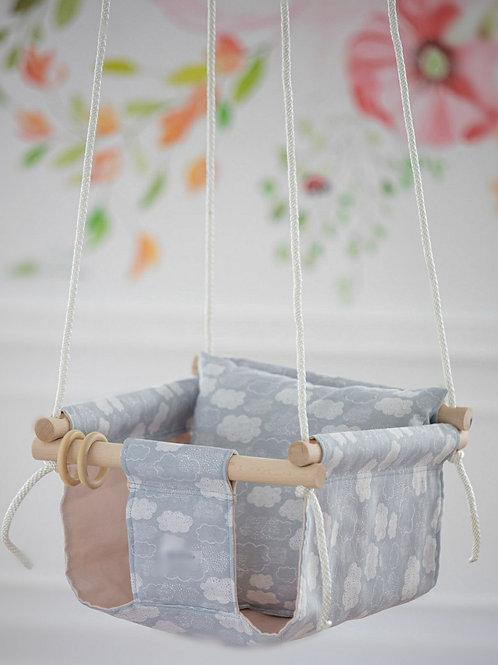 Baby Swing-Pink Cloud
