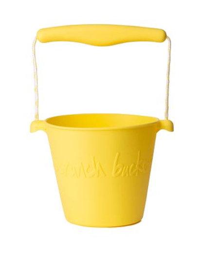 Scrunch Bucket- Yellow