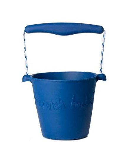 Scrunch Bucket- Blue
