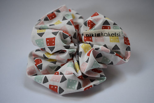 Scrunchie ''Dice Houses''
