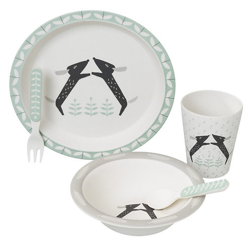 Bamboo Dinner Set - Dachsy