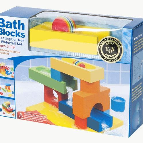 Bath Blocks - Floating ball run and waterfall set