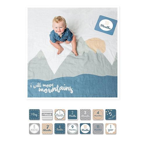 I Will Move Mountains - Milestone Blanket