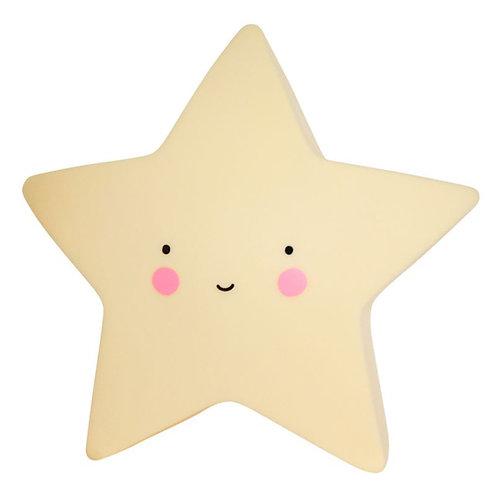 Little light: Star - yellow