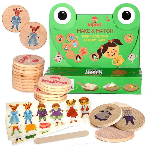 Make & Match Memory game kit