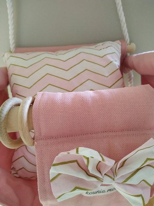 Baby Swing-Rose Gold