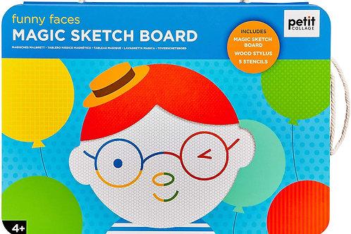 Funny Faces - Magic Sketch Board
