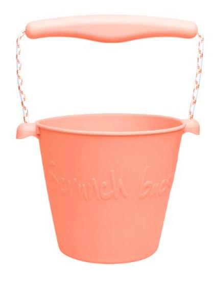 Scrunch Bucket- Coral