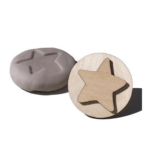 Wooden Stamp ''Star''