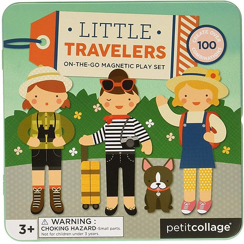 Little Travellers - Magnetic Play Set